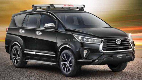 2021 Toyota Innova Crysta Facelift Accessories