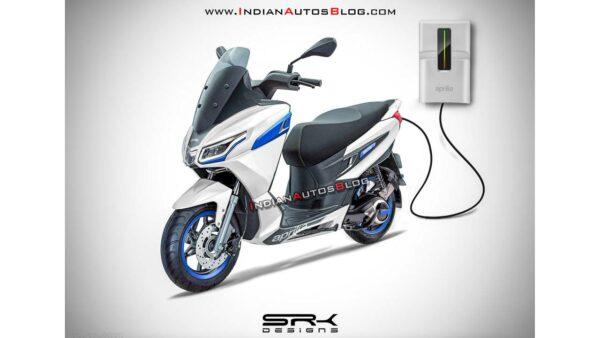 Aprilia SXR 160 Electric Scooter