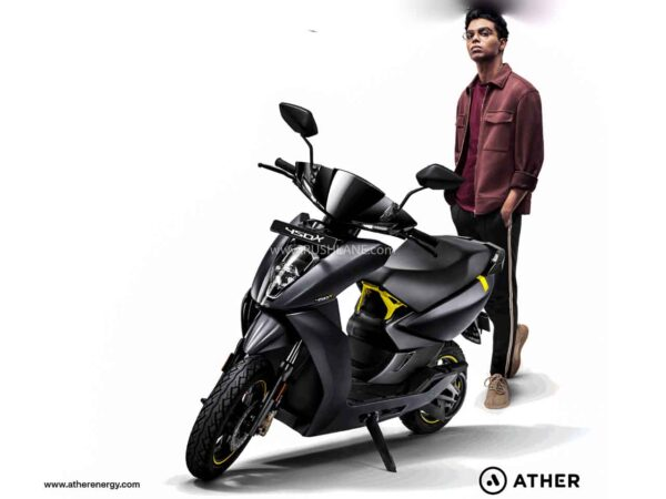 Ather electric scooter update