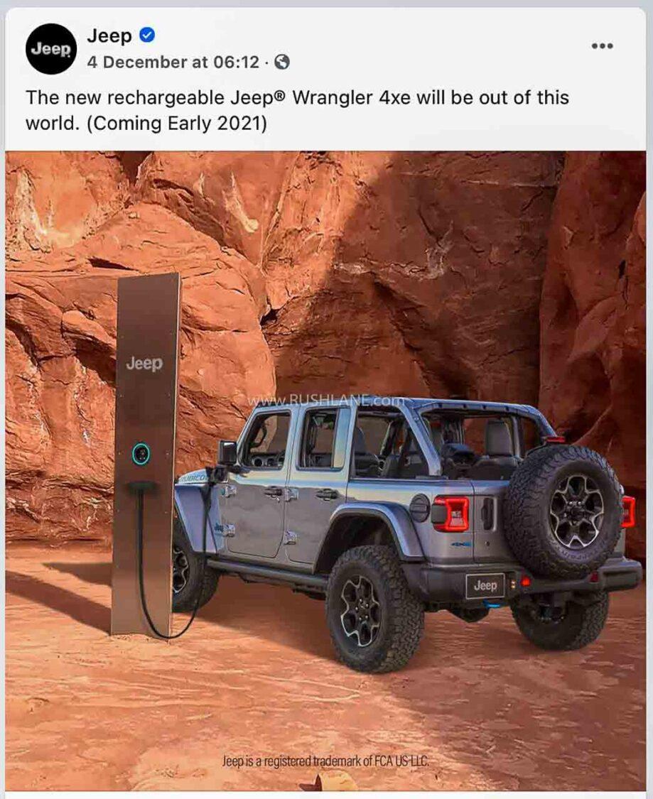Jeep Wrangler Electric Monolith Meme