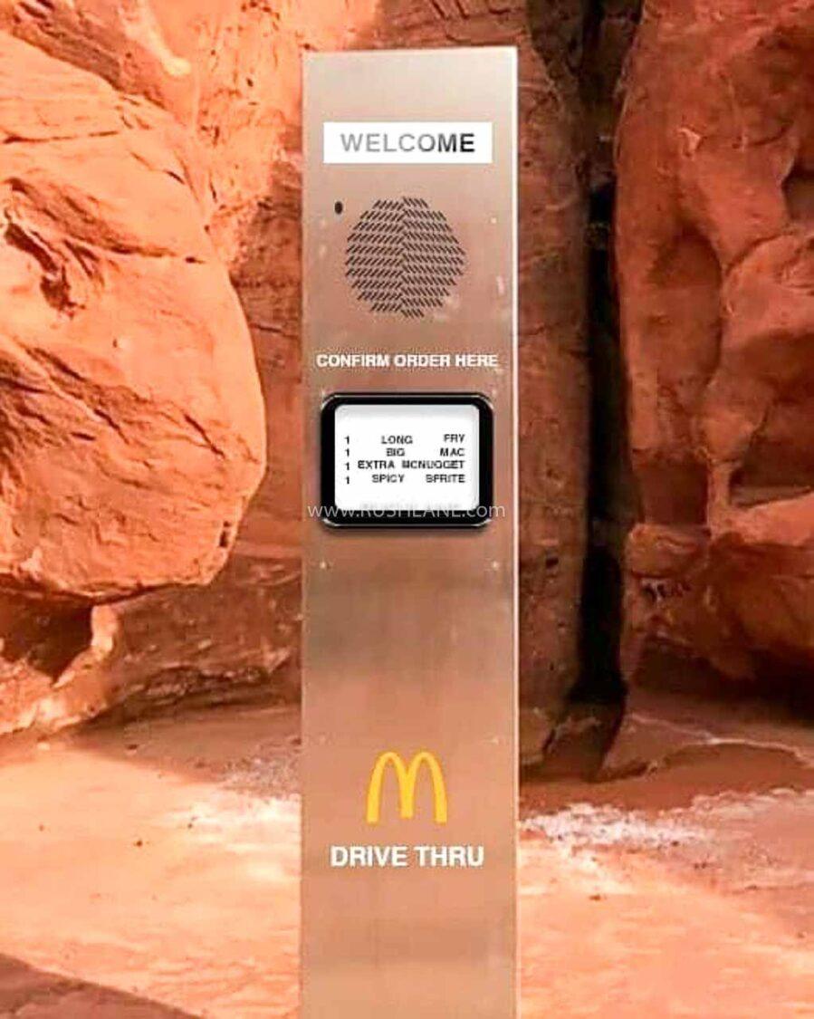 McDonald's Monolith Meme