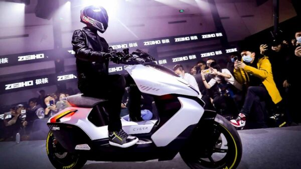 CFmoto Zeeho Cyber Electric Scooter Concept