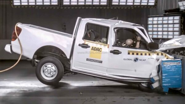 Great Wall Motor Steed 5 crash test safety