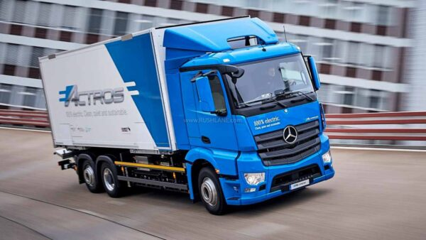 Daimler Mercedes Electric Truck