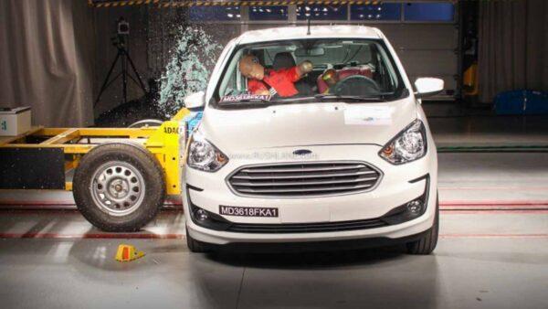 Ford Figo Aspire Crash Test
