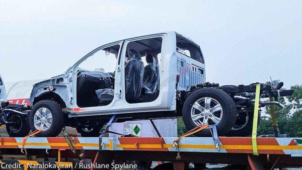 Ford Ranger CKD kit spied