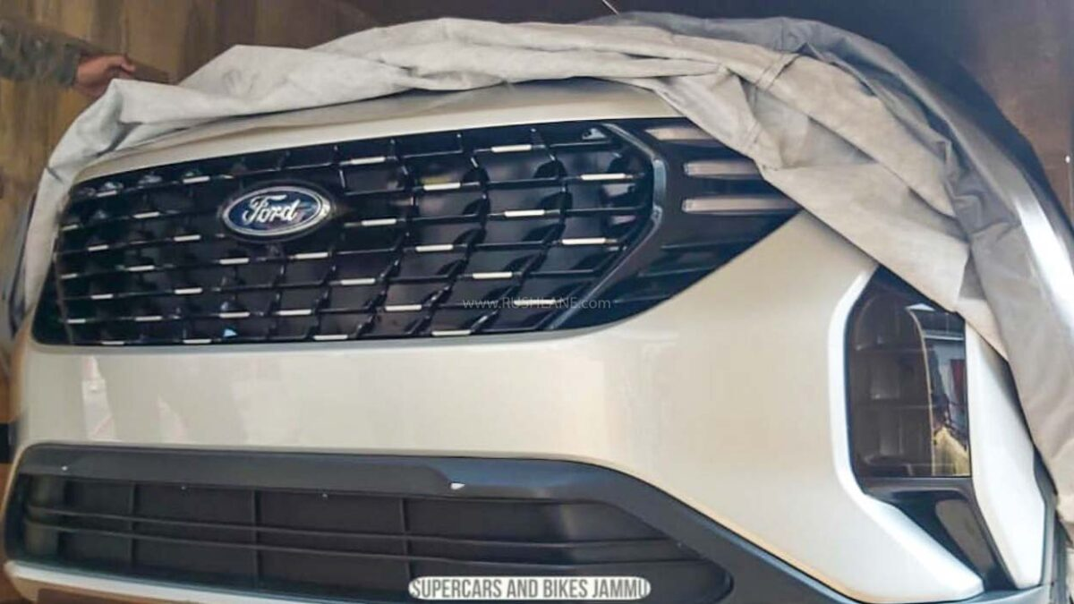 New Ford Suv Based On 2021 Mahindra Xuv500 Spied For 1st Time