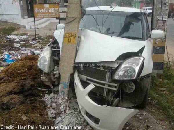 Front passenger airbag mandatory India