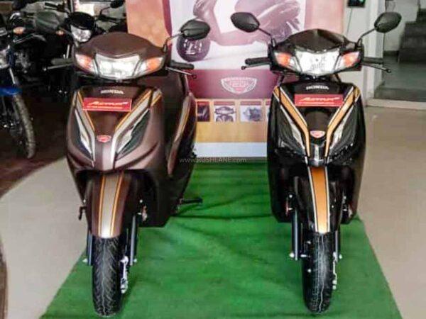 New Honda Activa 6G 20th Anniversary