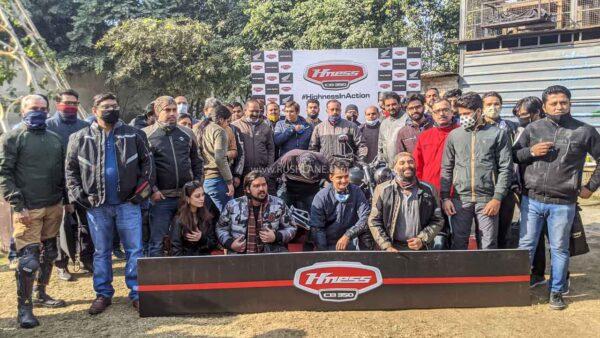 Honda CB350 Brotherhood Ride