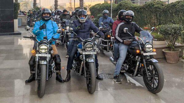 Honda CB350 Owners Brotherhood Ride
