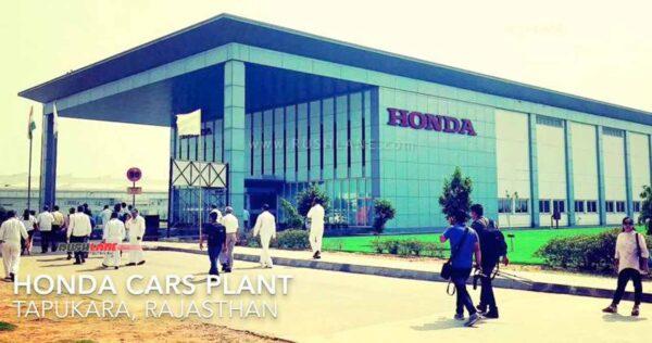 Honda Tapukara plant India