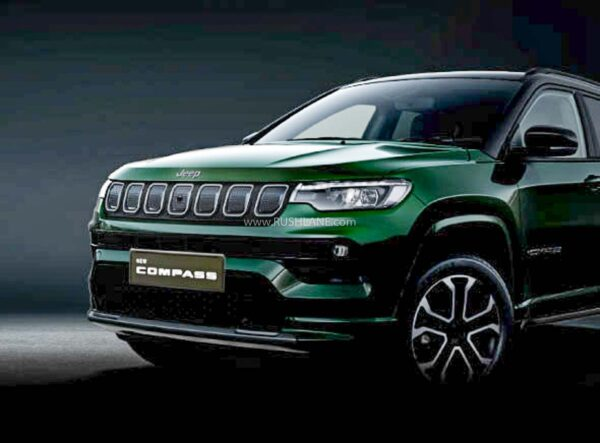 New Jeep Compass Facelift teaser by Jeep India