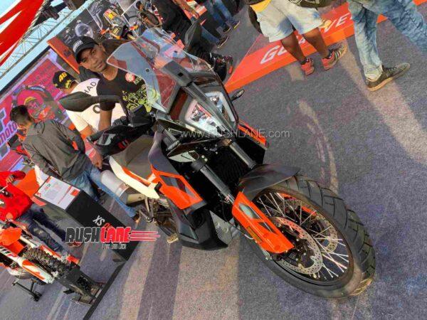 KTM 790 Adventure at India Bike Week