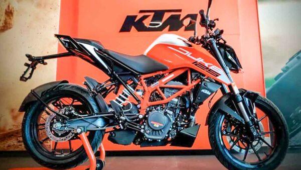 New KTM Duke 125