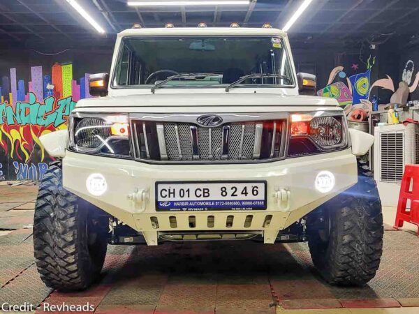 2021 Mahindra Bolero Modified