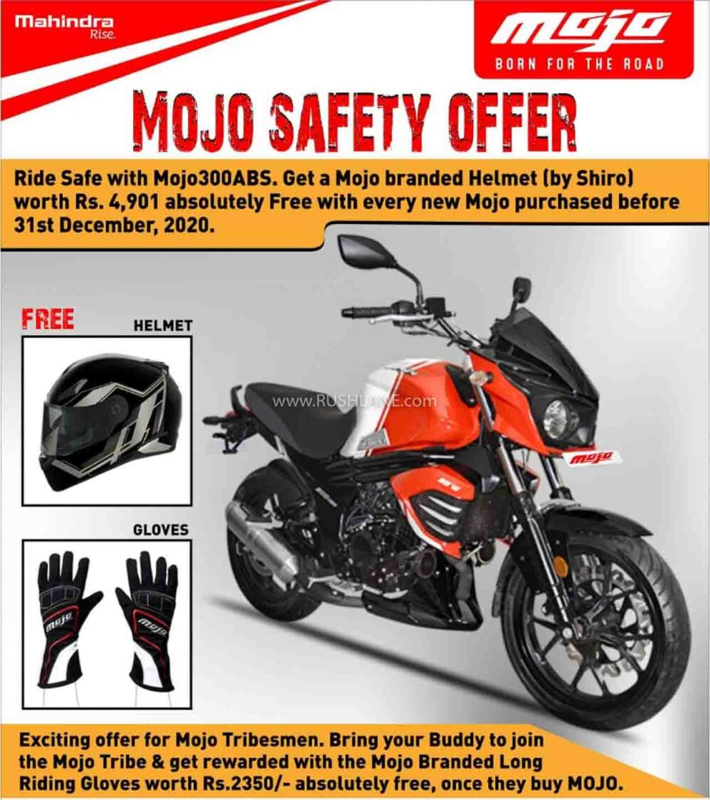 Mahindra Mojo Offer - Dec 2020