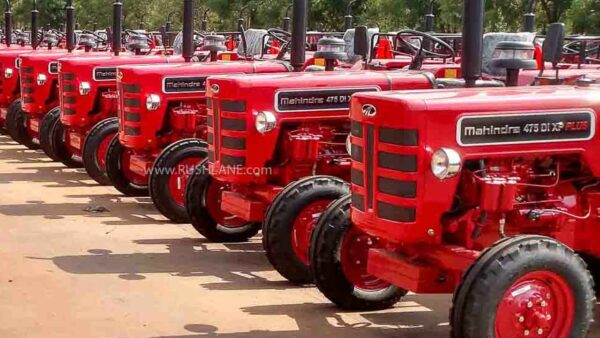 Mahindra Tractor Sales Nov 2020