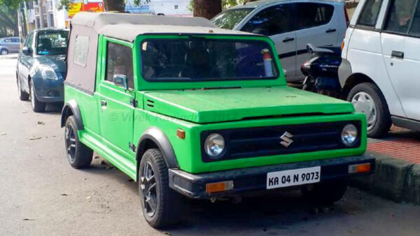 Maruti 800 Gypsy Modification