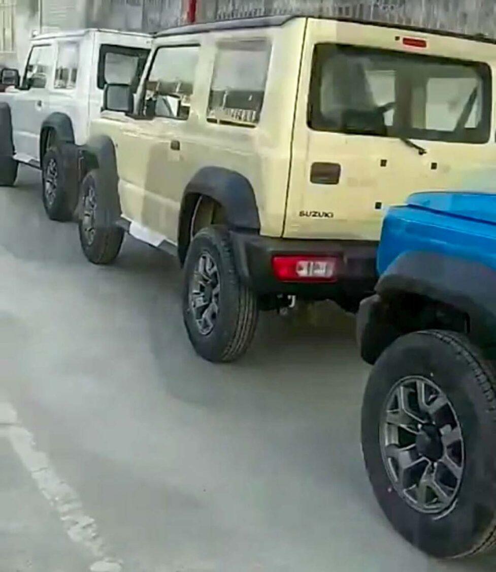 Maruti Suzuki Jimny production starts at Gurgaon plant