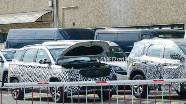 MG Hector spied with Tata Gravitas