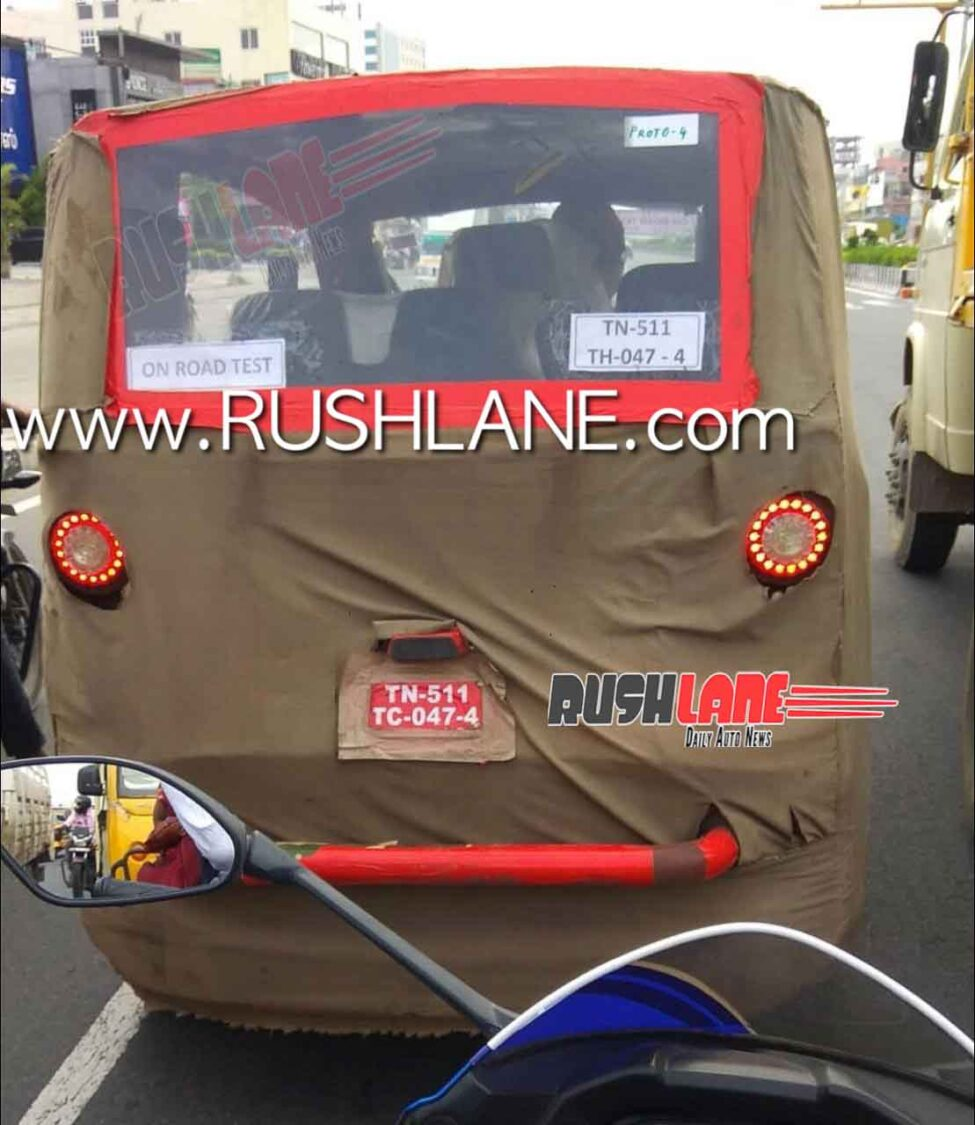 New Electric Rickshaw