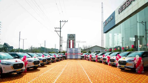 Nissan dealer delivering 36 Magnite in 1 day