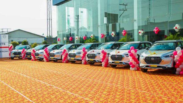 36 Magnite SUVs delivered in 1 day