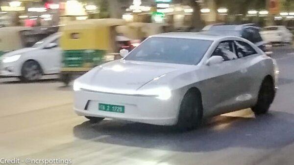 Pravaig electric car spied