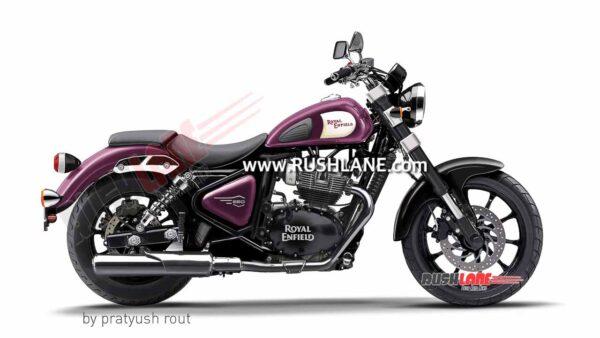 Royal Enfield 650cc Cruiser Night Violet