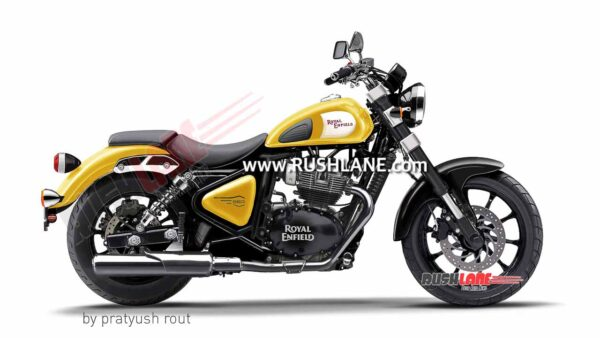 Royal Enfield 650cc Cruiser Yellow