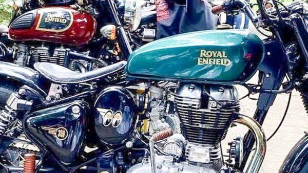 Royal Enfield Classic 350 based Bobber