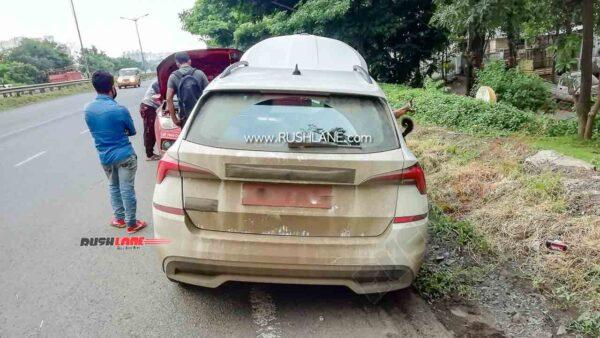 Skoda India Car On Test