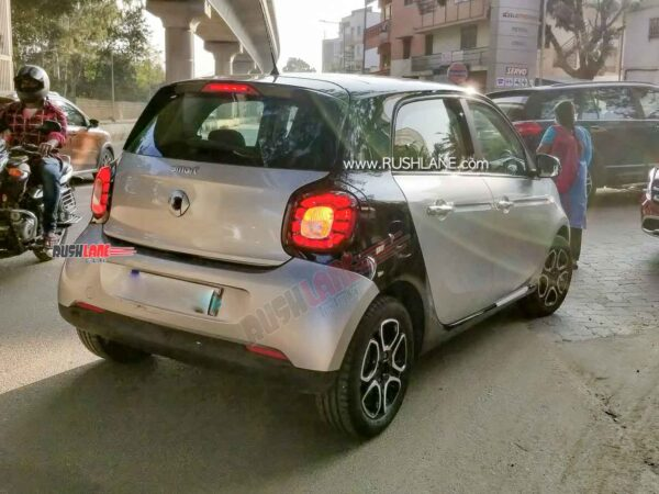 Smart ForFour Electric Car