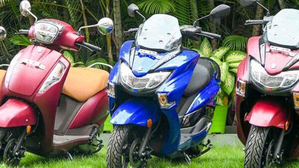 Suzuki Two Wheeler Sales