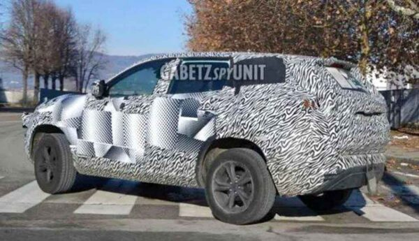 Tata Gravitas spied in Italy