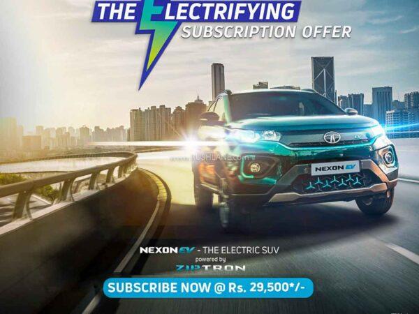 Tata Nexon Electric Subscription Price