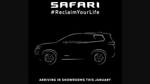 New Tata Safari Official Teaser
