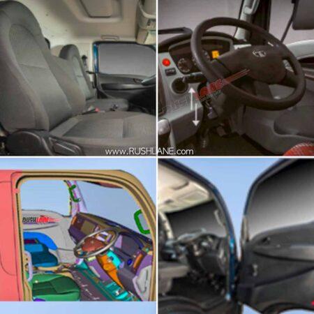 Tata T7.Ultra Truck Cabin