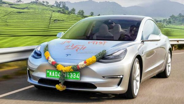 Tesla India sales and test drive