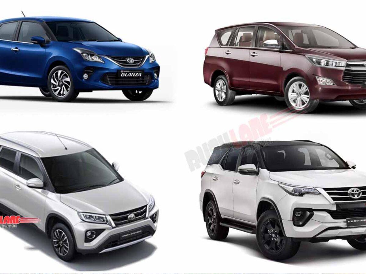 Toyota Sells More Maruti Rebadged Cars Than Their Own Urban Cruiser Glanza Overtake Innova Fortuner
