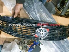 Toyota Ciaz Grille Spied