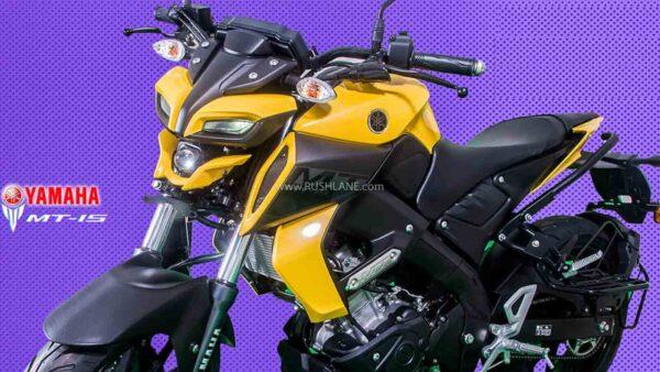 Yamaha MT15 Sales Nov 2020