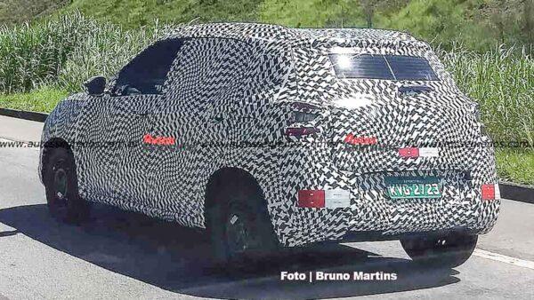 Citroen small car spied in Brazil