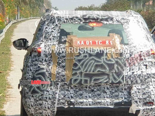 Citroen small car spied in Bangalore