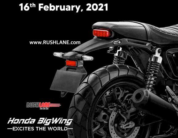 2021 Honda CB350 Cafe Racer Teaser