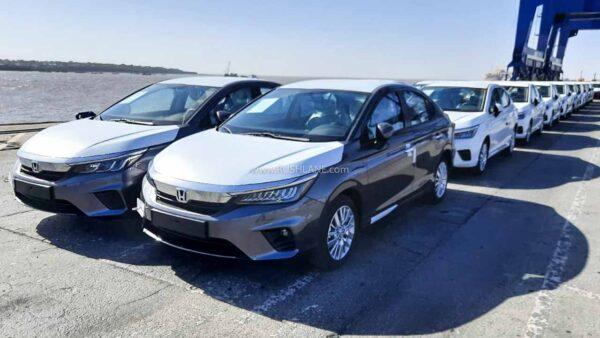 New Gen Honda City Exports