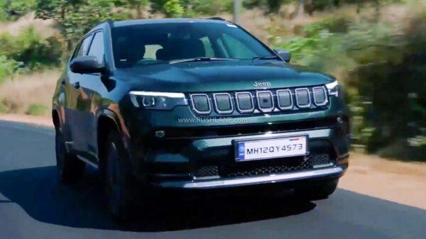 2021 Jeep Compass India Spec