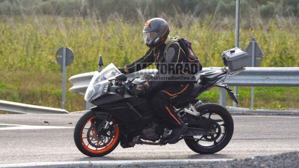 2021 KTM RC390 In Europe