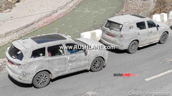 2021 Mahindra XUV500 and Scorpio